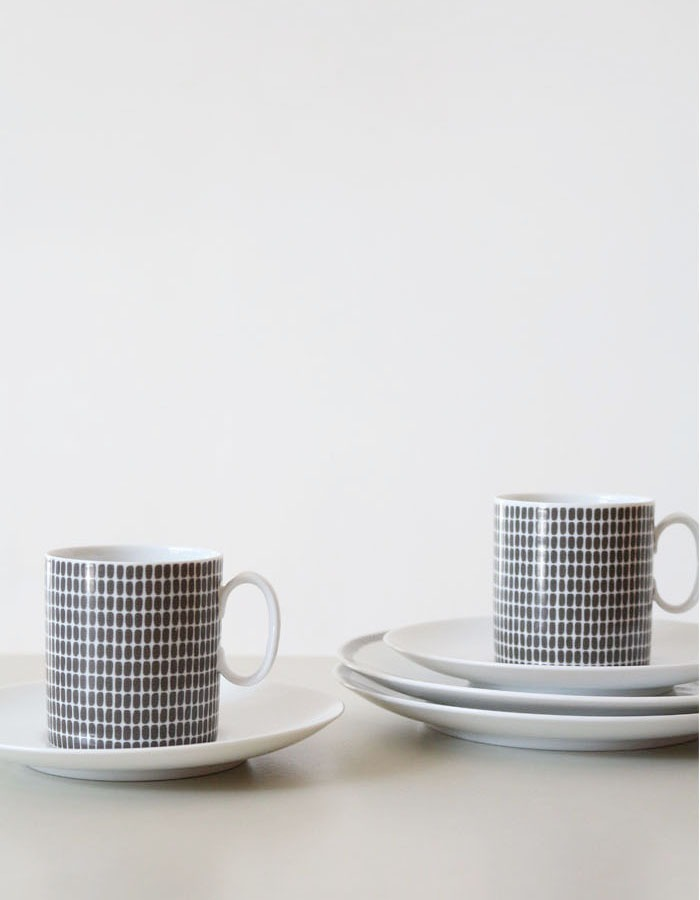 thomas germany) cup&sauser plate set