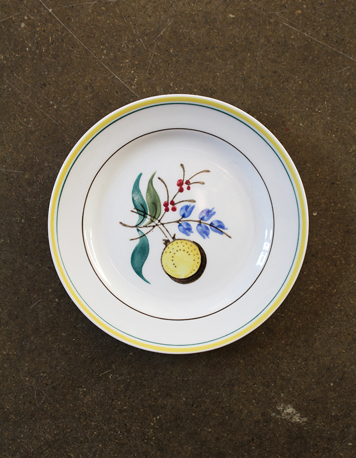 arabia finland) windflower bread butter plate