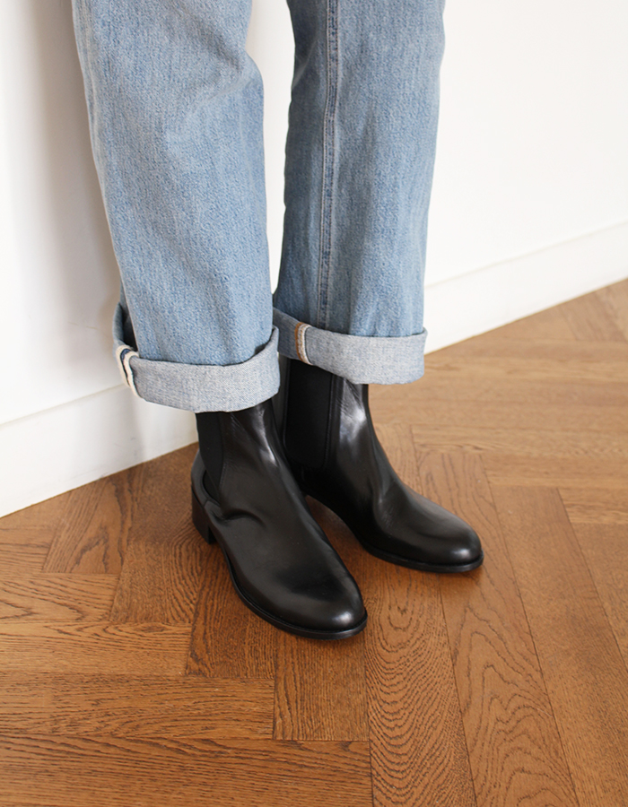 al,thing) basic chelsea boots
