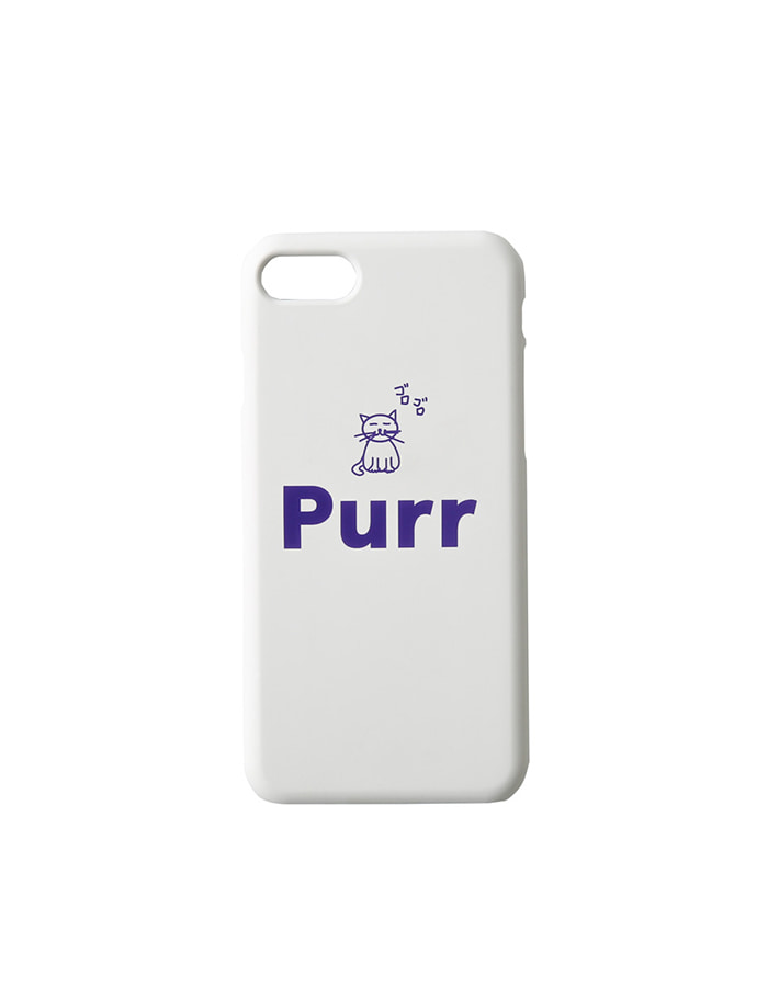 purr) purr iphone case