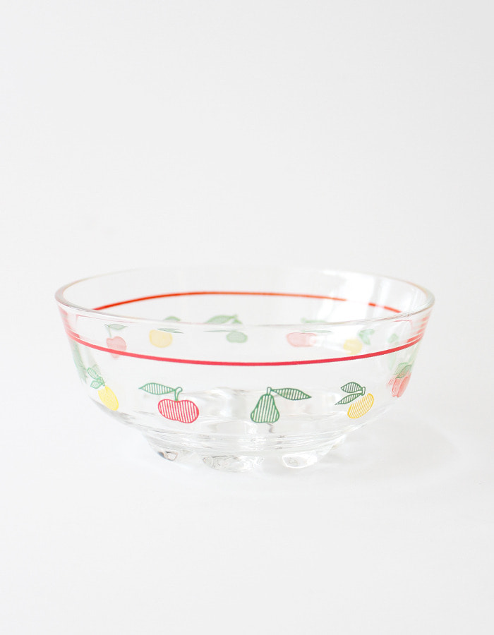 Italy vintage) glass bowl
