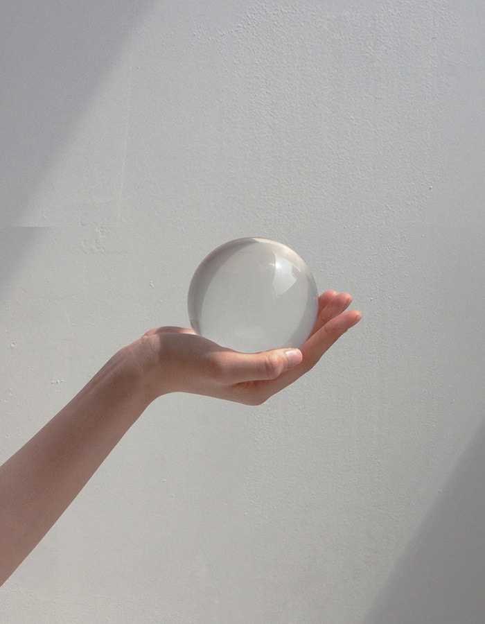 museum archive) crystal ball - s, m