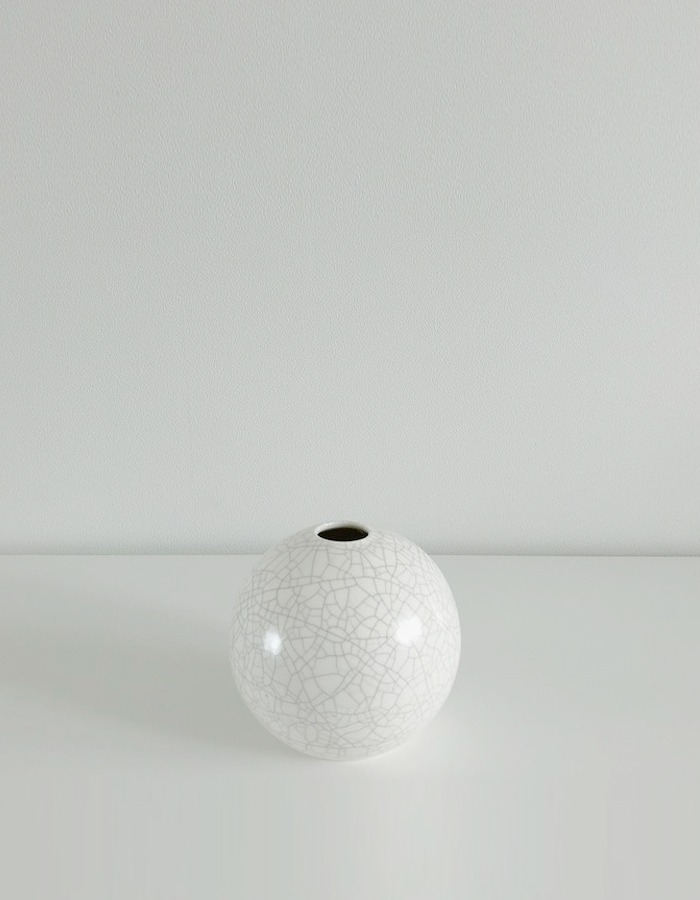 lapalma) lpm Crackle Ball Vase