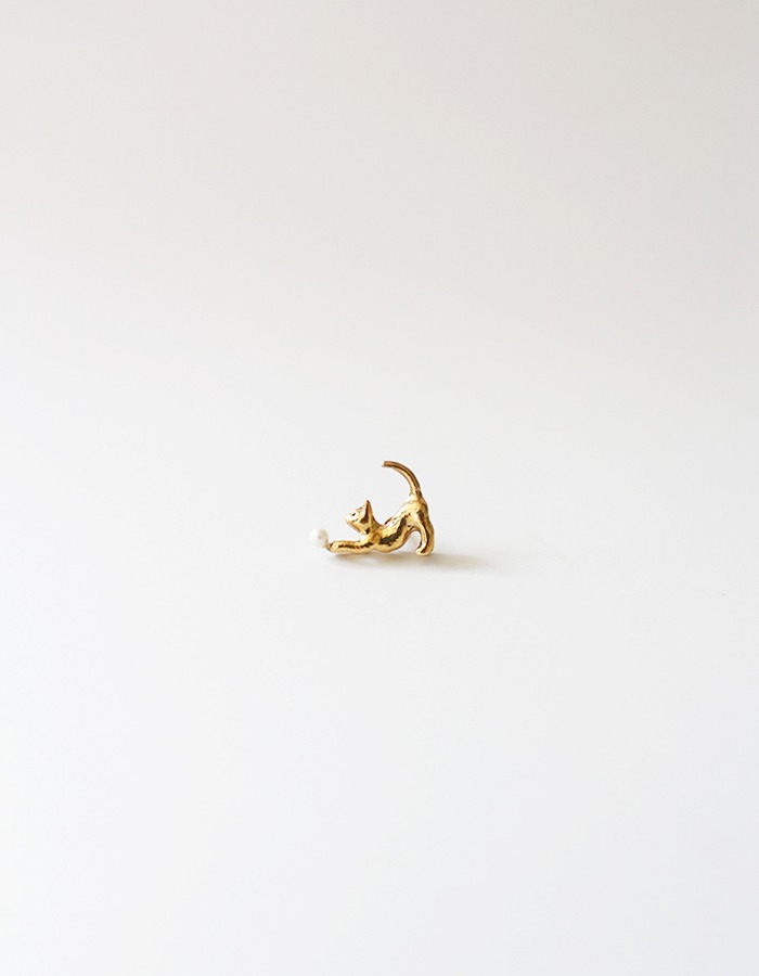 Only al,thing) cat brooch - 재입고