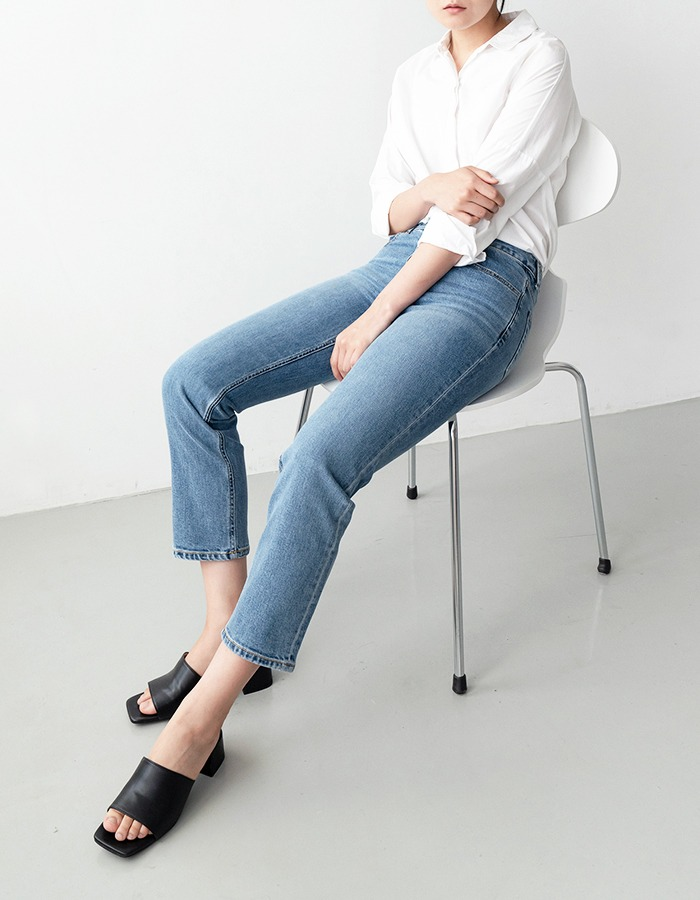 al,thing) classic straight denim