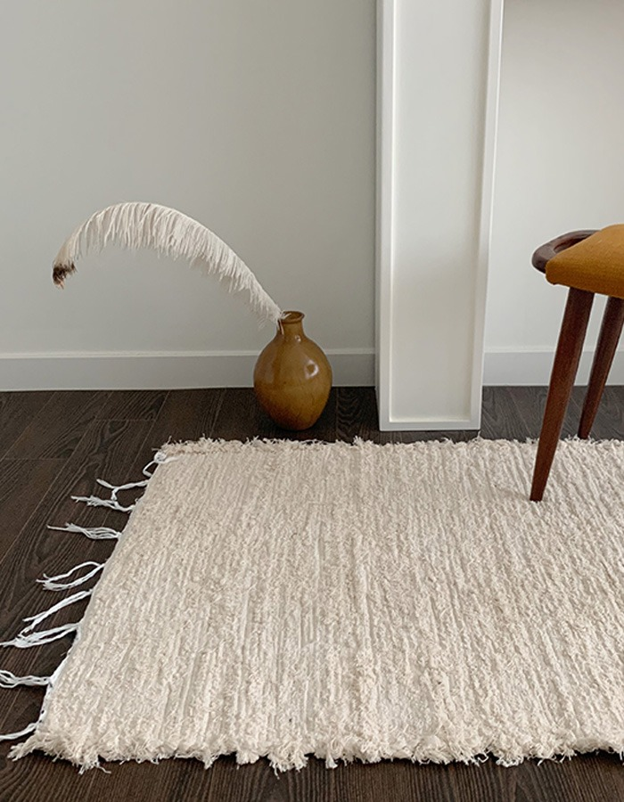 lapalma) lpm Handmade wooven cotton rug - 2차 재입고