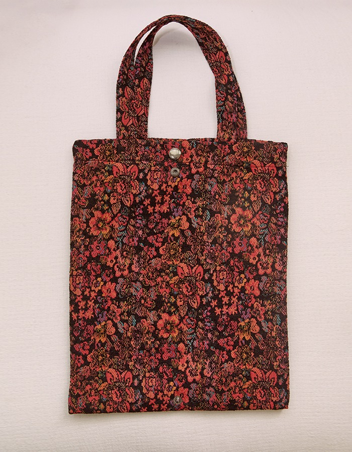 cosmoss) Vintage Floral Zagard Bag (Red) *Limited Item*