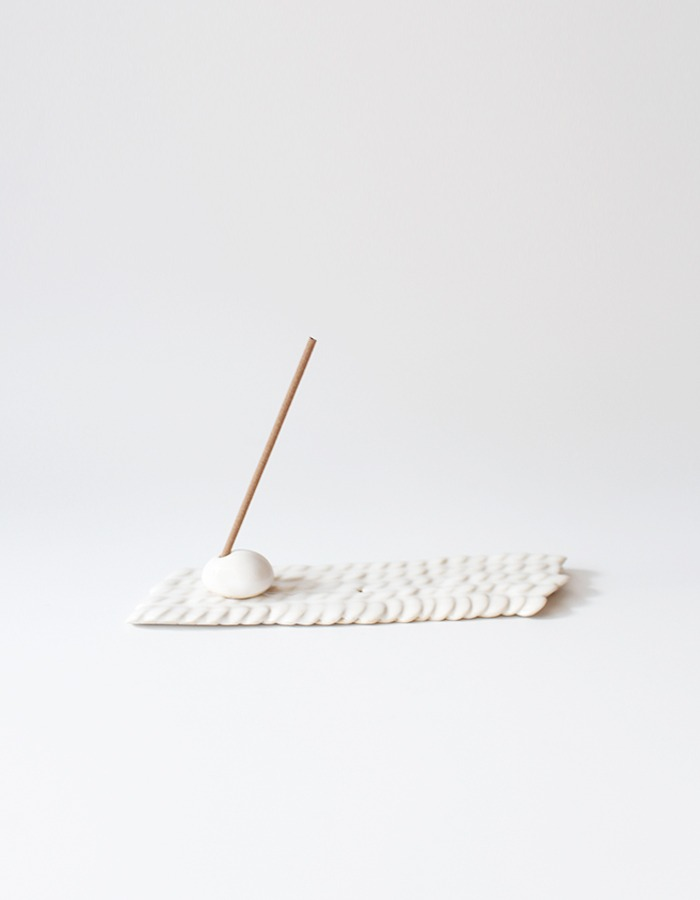 east smoke) mosaic tray &  incense holder