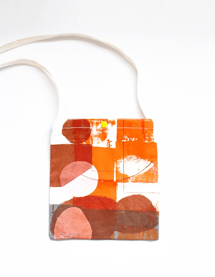 artistproof) travel mini bag (orange)